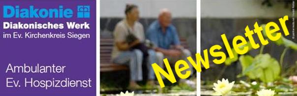 Der neue Newsletter des Ambulanten Ev. Hospizdienstes Siegerland ist online!